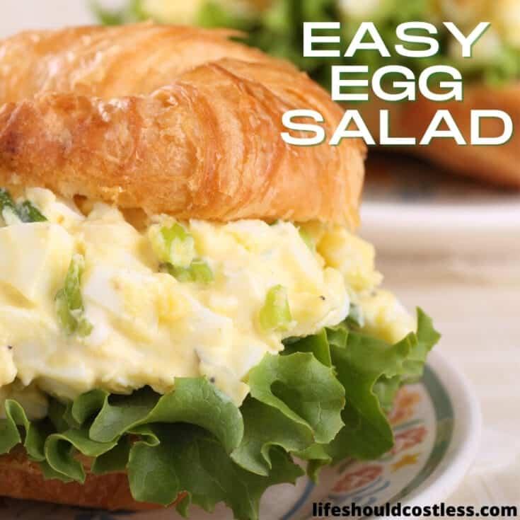How long does egg salad last?