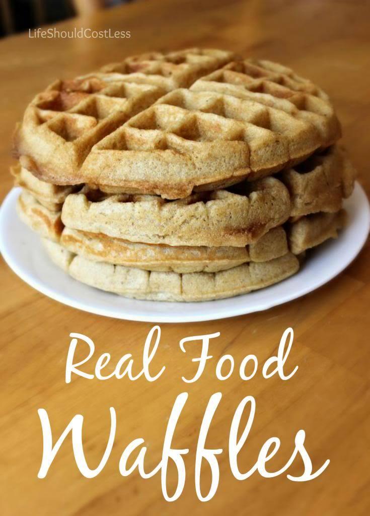 Real Food Waffle Recipe