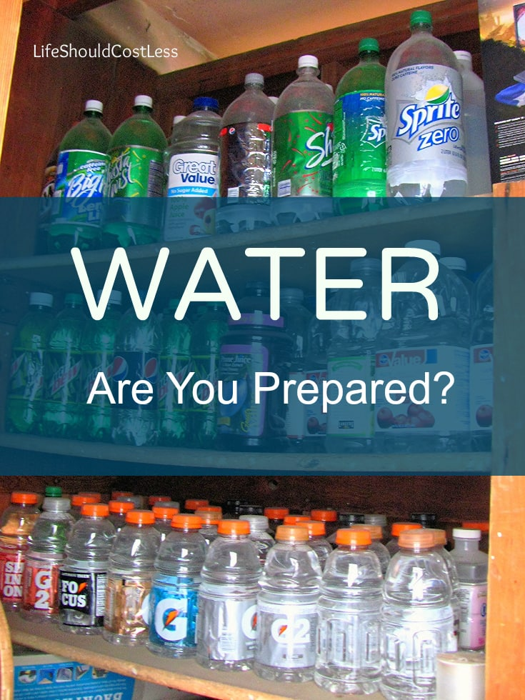 Be Prepared: Water