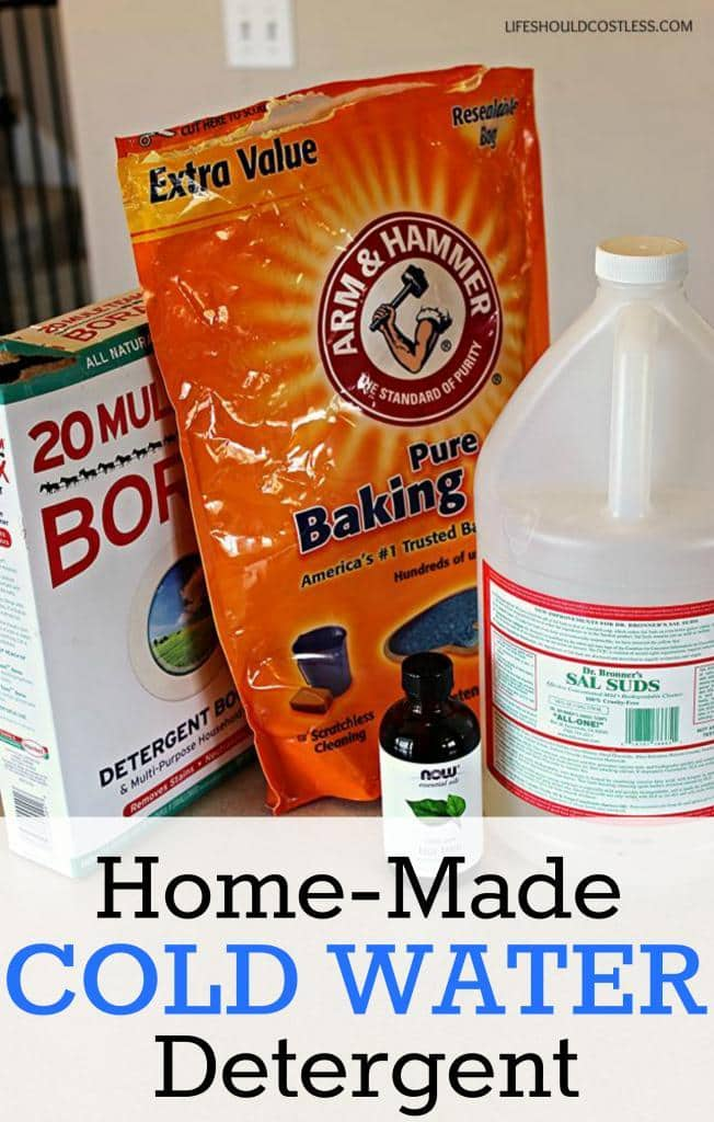 Home-Made Cold Water Detergent