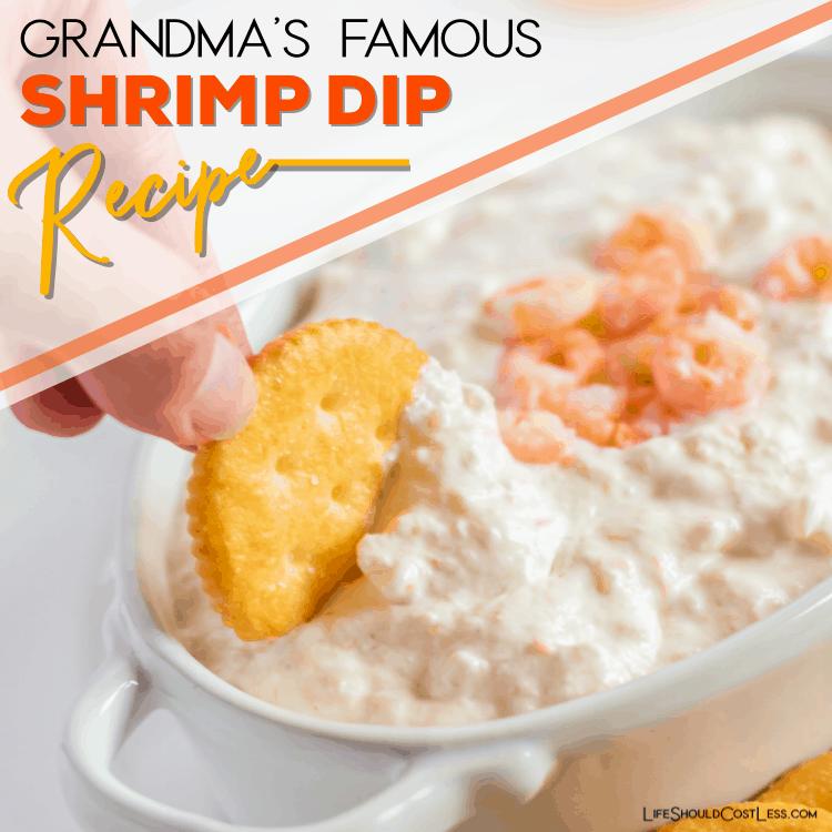 The best shrimp dip recipe lifeshouldcostless.com