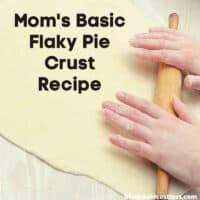 best dump and mix pie crust recipe