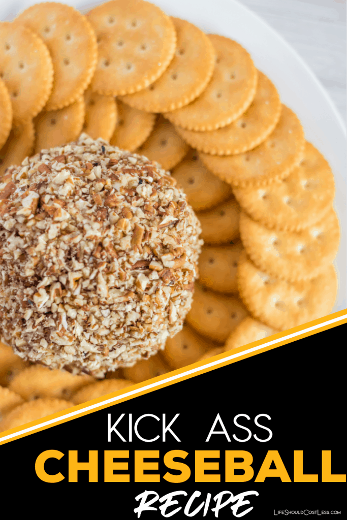 The Best Cheese Ball Recipe. This easy and delicious cheeseball is perfect for gameday or any large gathering. lifeshouldcostless.com