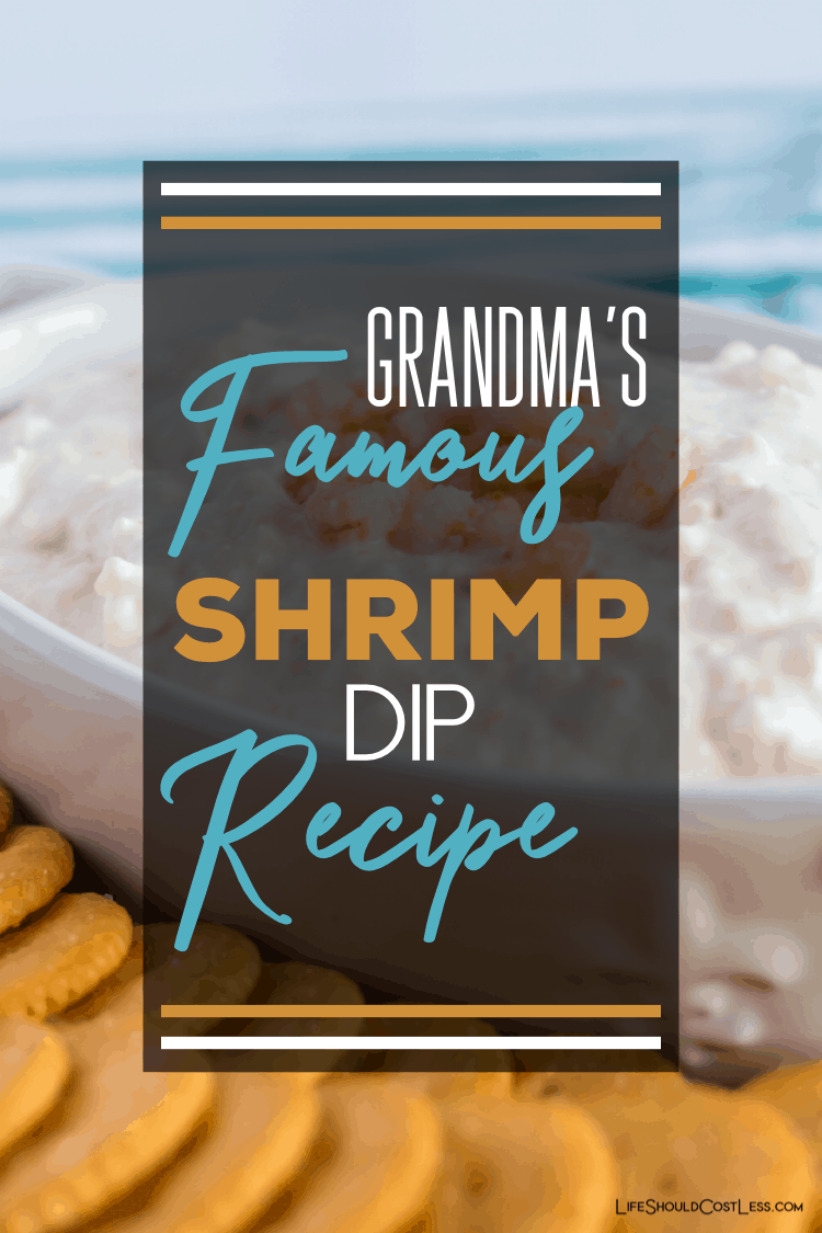 Grandma's Famous Shrimp Dip Recipe. This simple and easy recipe can be used to make shrimp puffs or to dip with crackers. lifeshouldcostless.com