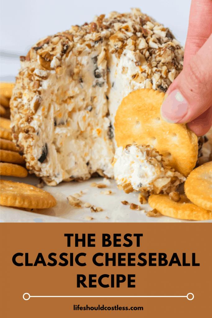 classic cheeseball recipe.