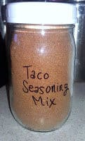 Taco Seasoning Mix (to fill pint jar)