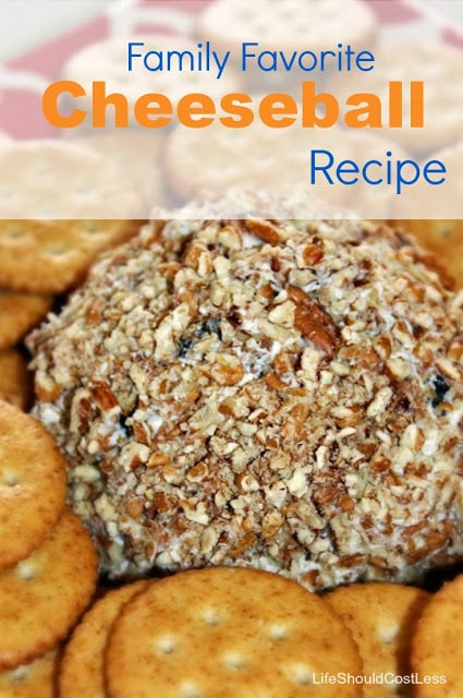 Family Favorite Cheeseball Recipe