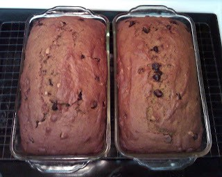 Pumpkin Chocolate Chip Bread (My Recipe)