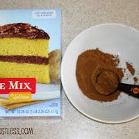 What I do when a recipe calls for a spice cake mix and I don't have one on hand