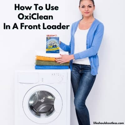Where to put oxiclean in front loader. lifeshouldcostless.com