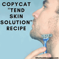 knockoff tend skin solution recipe to make it yourself at home.