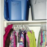 Tip for Organizing Kids Clothes as They Outgrow Them