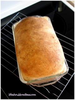 Basic Whole Grain White Sandwich Bread (two loaf recipe)