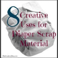 You Made Your Own Cloth Diapers, Now What?