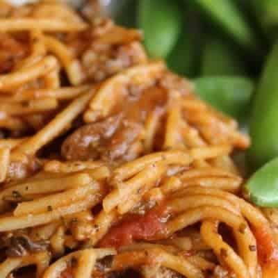 CrockPot Spaghetti