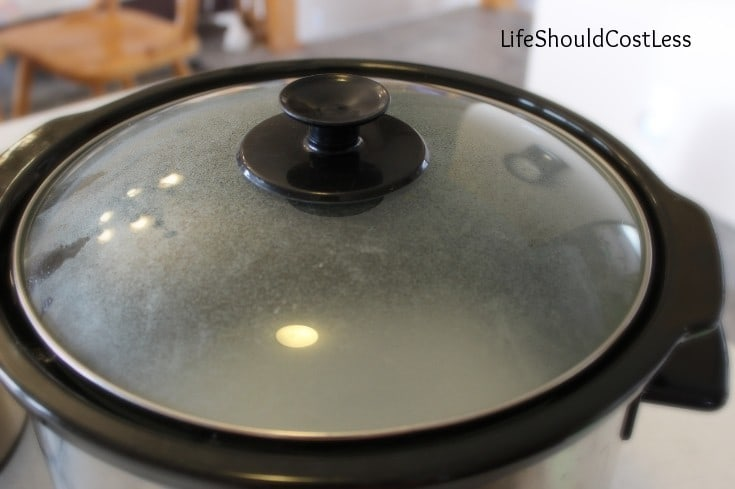 How to make your slow cooker clean itself.