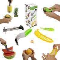 Five Piece Fruit Slicer Set
