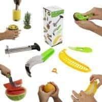 Five Piece Fruit Slicer Set