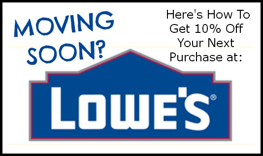 Active Lowes Moving Coupon Codes & Deals for October 12222