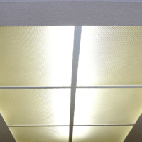 How To {Easily} Clean Dropped Ceiling Lighting Cover Panels