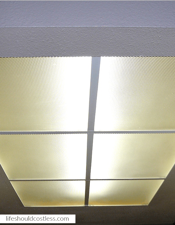 How To Easily Clean Dropped Ceiling Lighting Cover Panels Life Should Cost Less