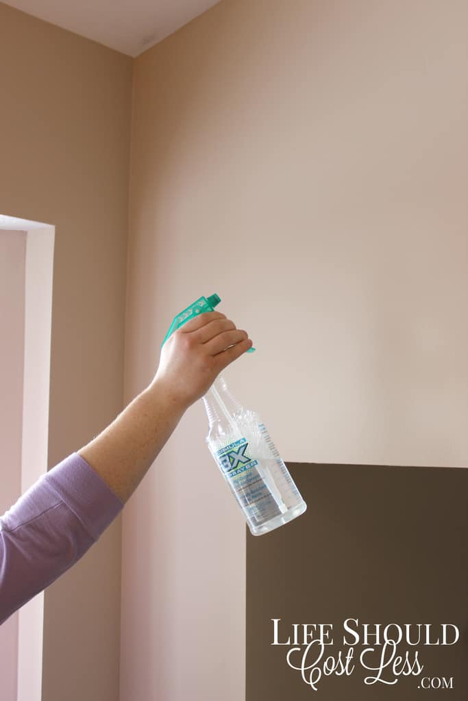 How To Clean Walls with vinegar, what to clean walls with, what to use to clean walls. lifeshouldcostless.com