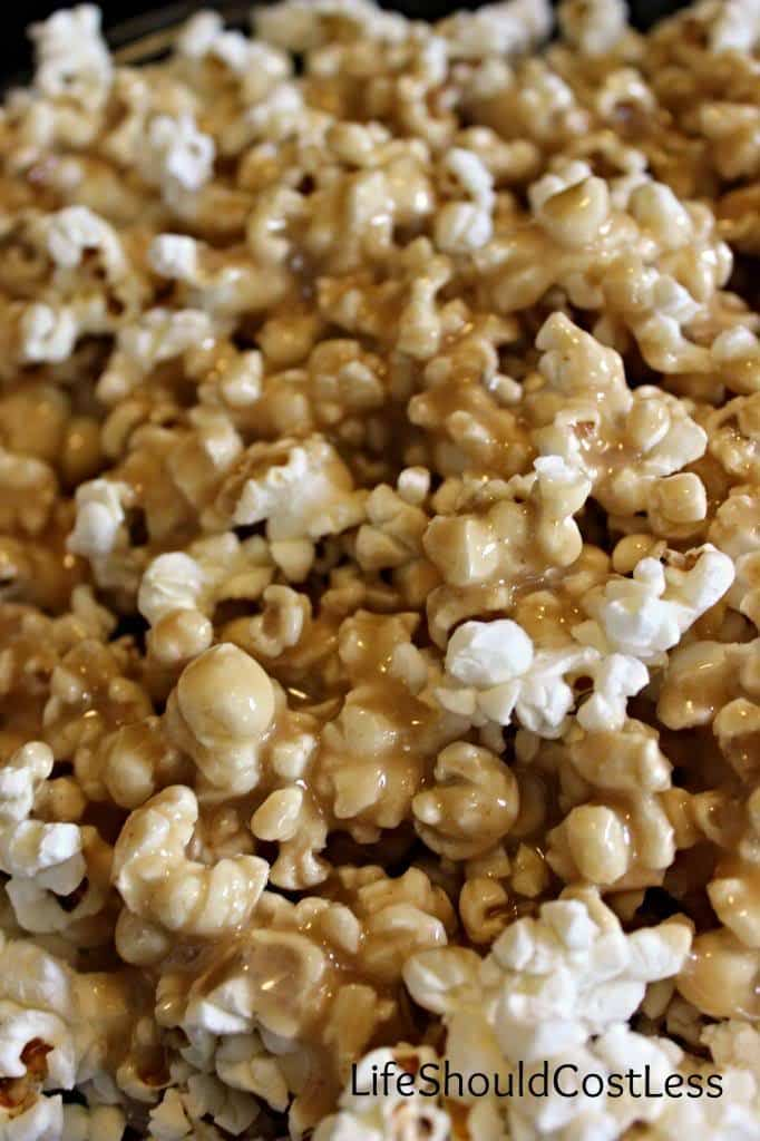 Browned Butter Caramel Popcorn