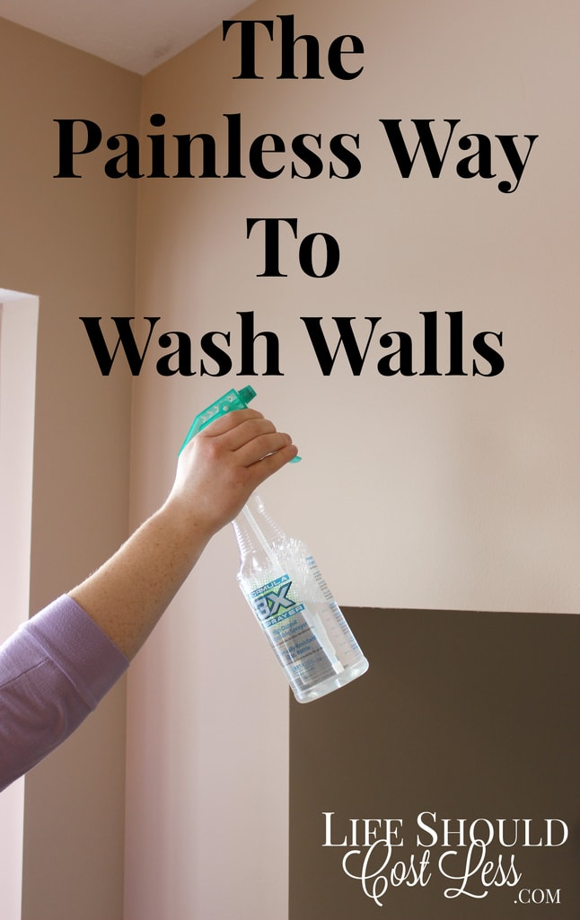 The Painless Way To Wash Walls This Time Saving Tip Will Save You A