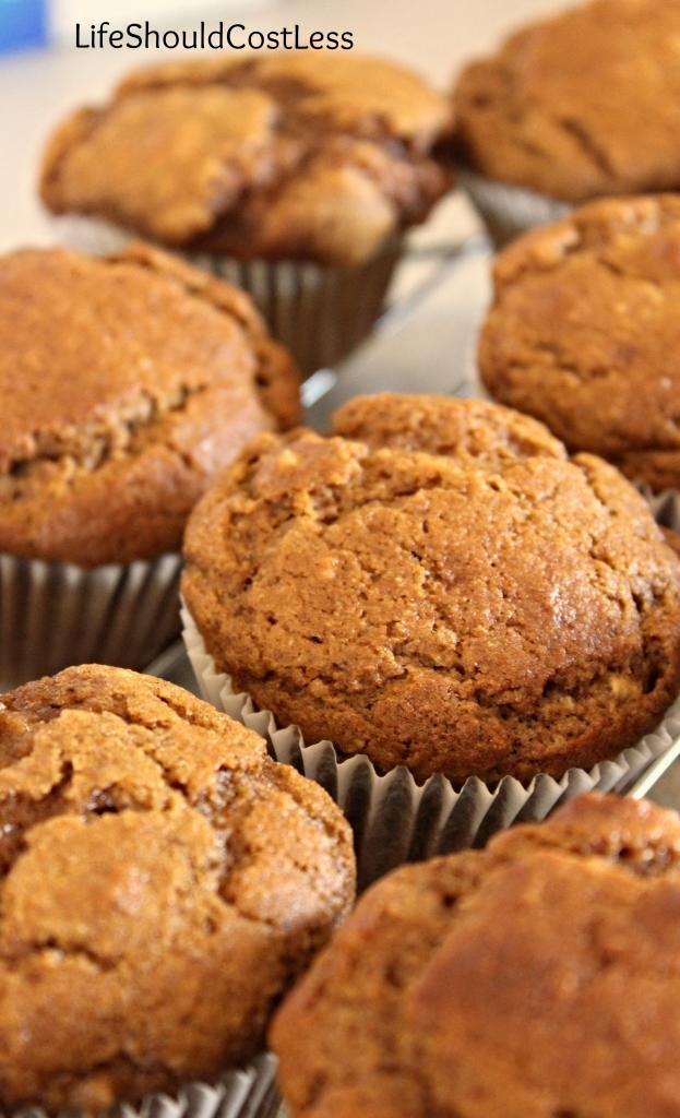 Whole Wheat Pumpkin Walnut Muffins