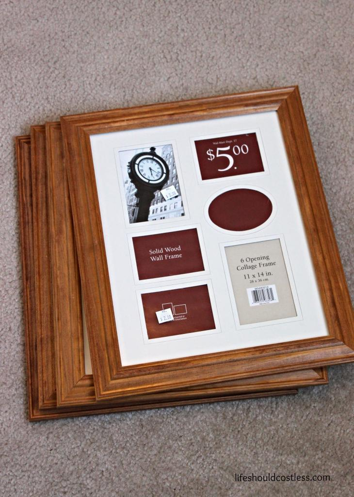 Cheap Picture Frame Make Over The One Year Old Wall Life Should