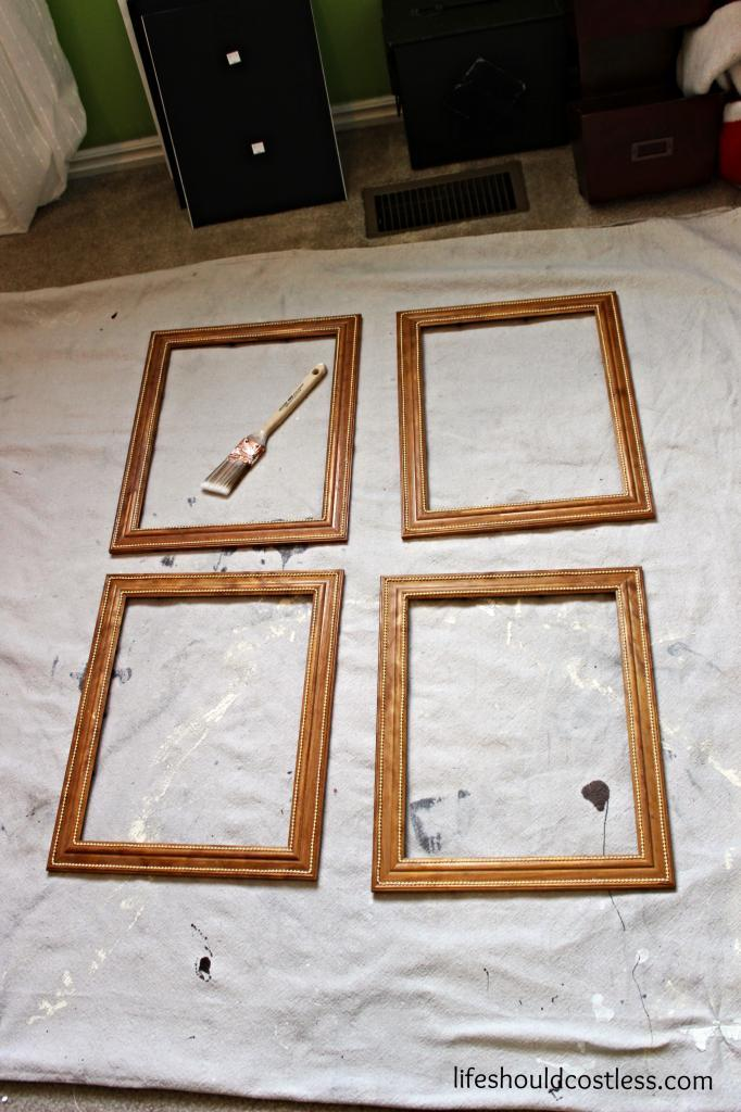 how to make cheap picture frames