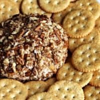 Mom's Famous Cheeseball Revisited, Now Made With Chobani Greek Yogurt