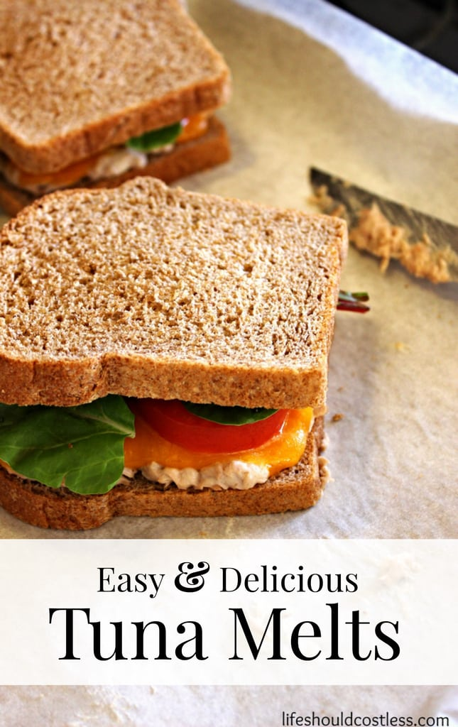 Easy & Delicious Tuna Melts