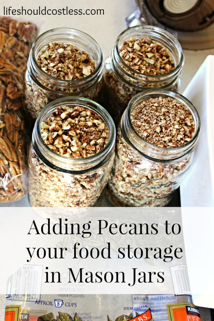 Adding Pecans To Your Food Storage In Mason Jars