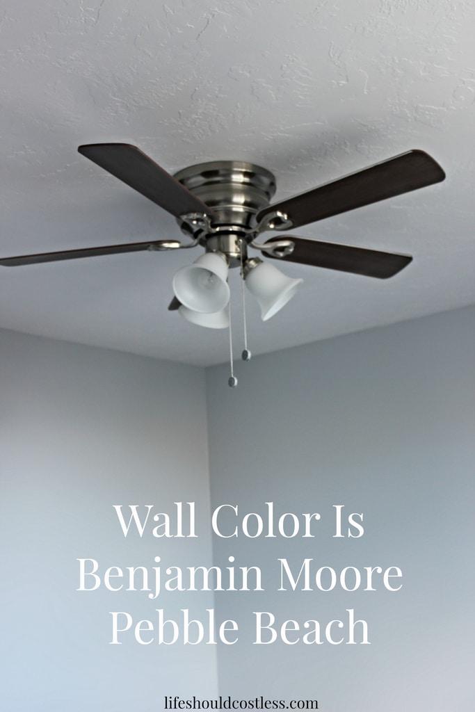 Benjamin Moore Pebble Beach Paint Color - Life Should Cost Less
