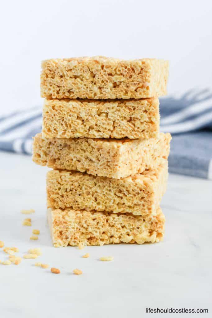 Rice crispy treats bulk recipe. lifeshouldcostless.com