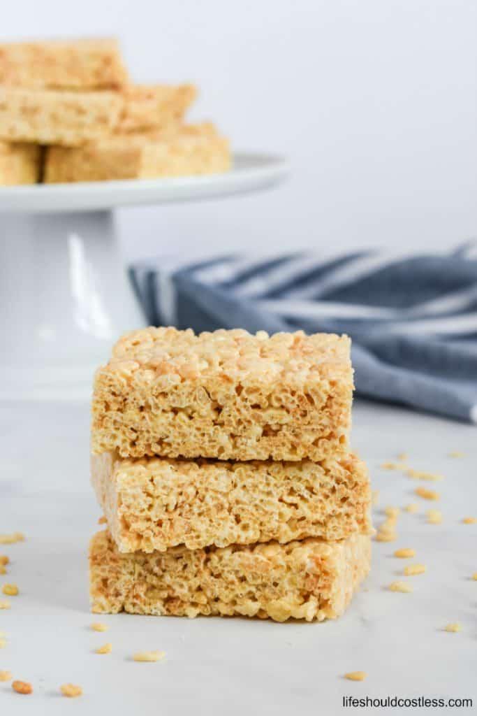 Rice crispy treats large batch recipe. lifeshouldcostless.com