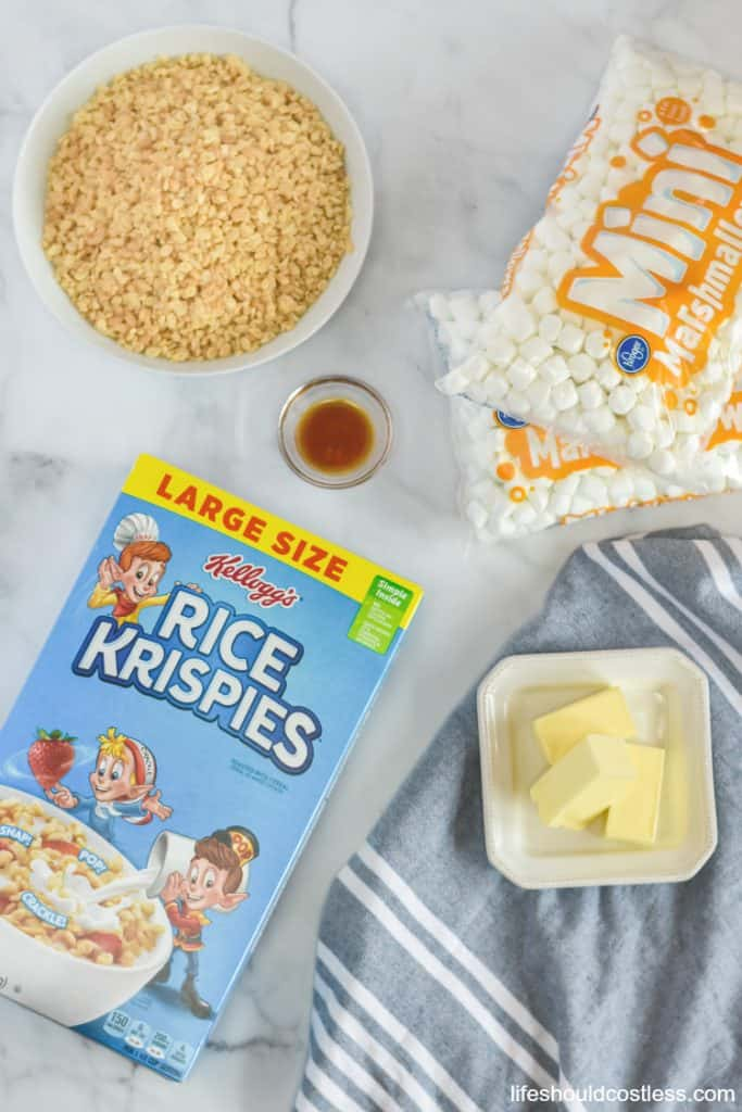 What are the ingredients in rice krispie treats lifeshouldcostless.com