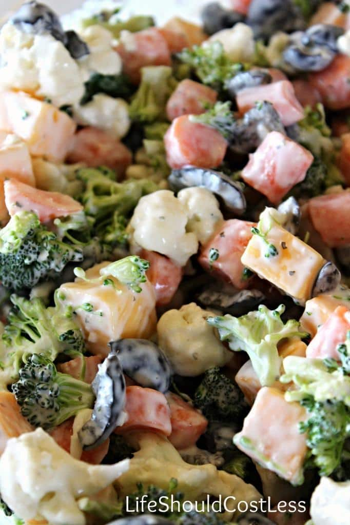 Family Favorite Veggie Salad