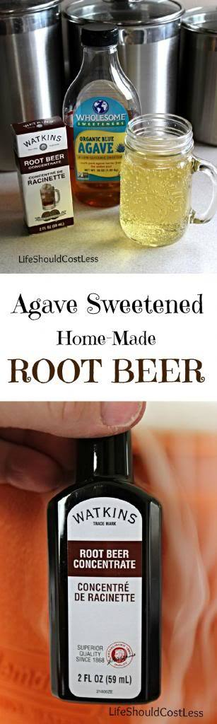 http://www.lifeshouldcostless.com/2014/05/agave-sweetened-home-made-root-beer.html