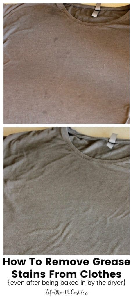 How To Remove Grease Stains From Clothing Even After It S Been