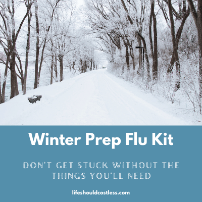 How to prepare for flu season.