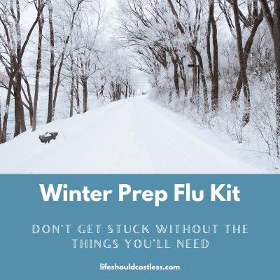 How to prepare for flu season.