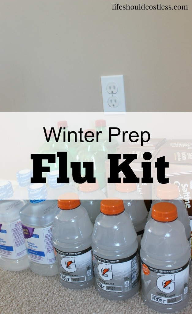 WINTER PREP FLU KIT. Don't Get Stuck Without The Things You'll Need.