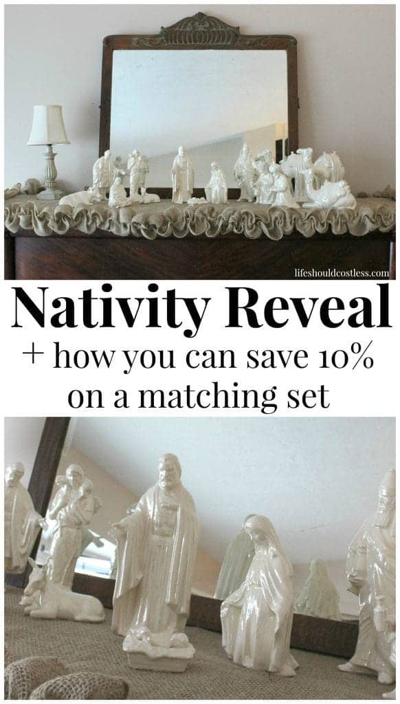After years and years of searching,I finally found the nativity matching my mom and grandmother's.