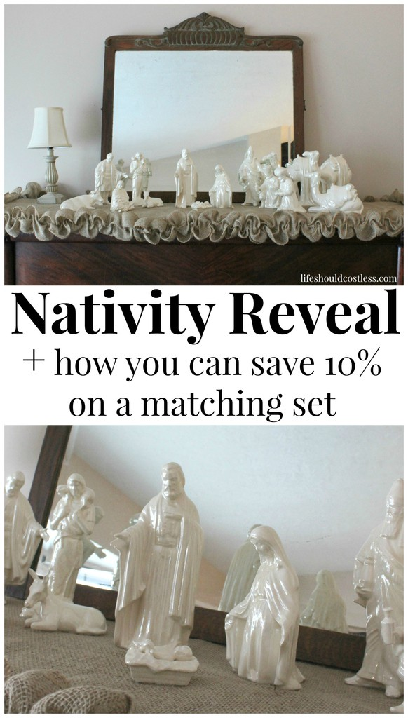 2015 Nativity Reveal, & How You Can Save 10% On A Matching Set