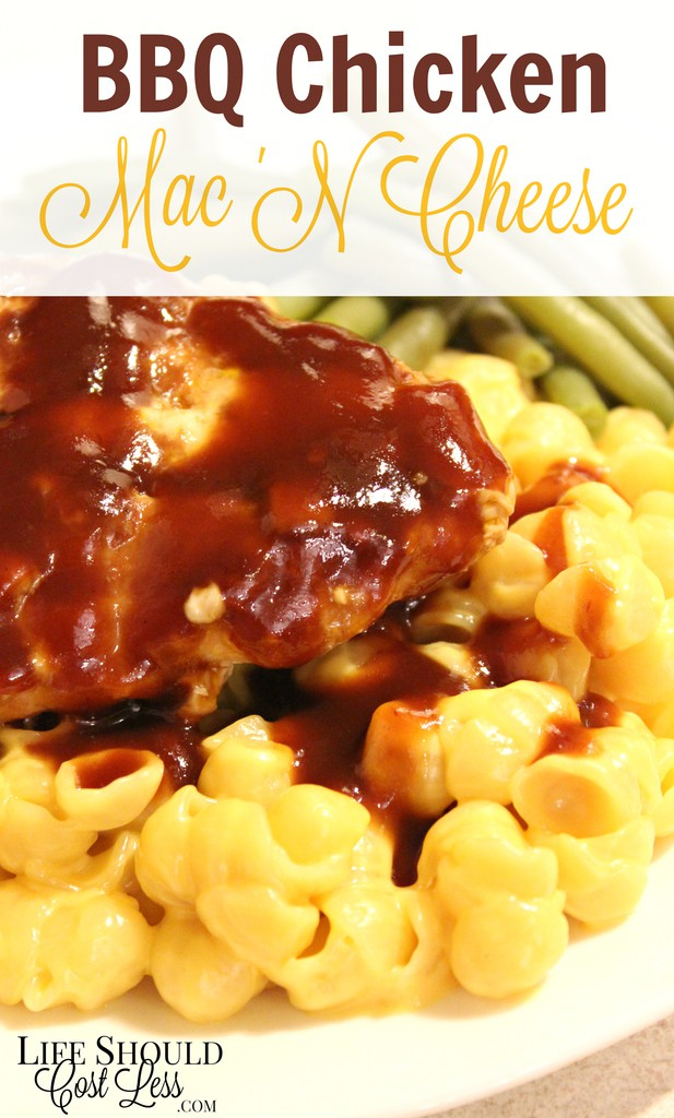 BBQ Chicken Mac 'N Cheese
