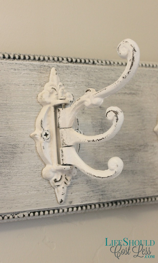 Upcycle those old decor signs into shabby coat towel for Iron accents promo code
