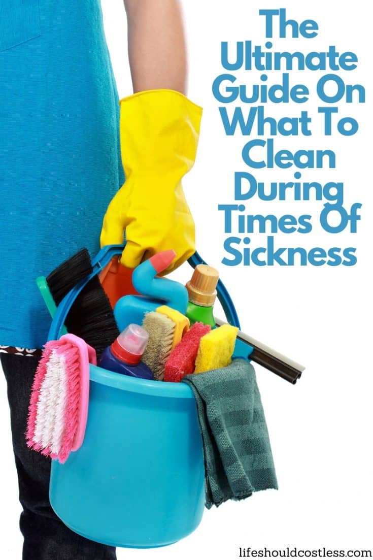 How to disinfect couch, carpet, toys, and whole home when down with the sickness. lifeshouldcostless.com