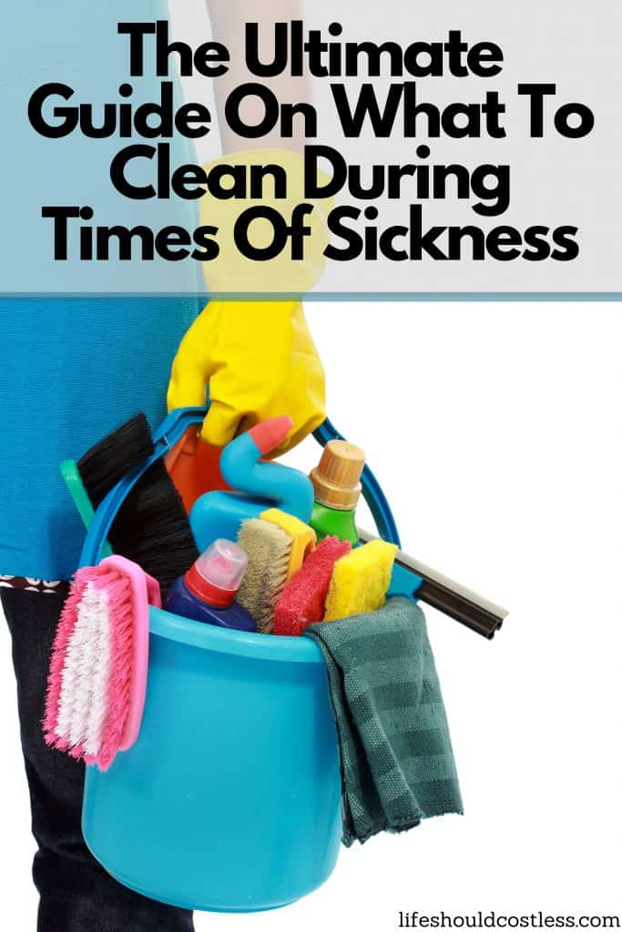 How to disinfect/sanitize the whole home, house, or office during times of sickness. lifeshouldcostless.com